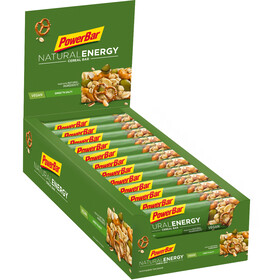 PowerBar Natural Energy Cereal Bar - Nutrition sport - 24x40g